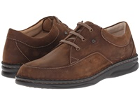 Finn Comfort Bagan Wood Oilato Men's Lace Up Casual Shoes Brown