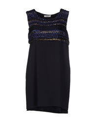 Ella Luna Short Dresses Dark Blue