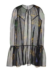 Erdem Capes And Ponchos Green