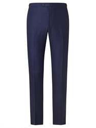 John Lewis And Co. Colherne Heavy Twill Suit Trousers Indigo