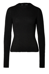 Anthony Vaccarello Cashmere Mohair Pullover