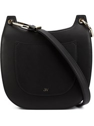 Jason Wu 'Saddle' Shoulder Bag Black