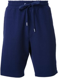 Ymc Drawstring Shorts Blue