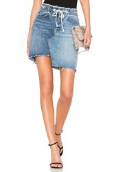 Blank Nyc New Wave A Line Skirt Blue