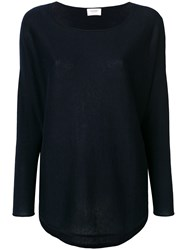 Snobby Sheep Crew Neck Jumper Black