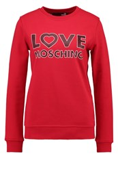 Love Moschino Sweatshirt Rosso Red