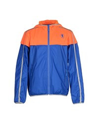Bikkembergs Coats And Jackets Jackets Men Bright Blue