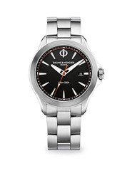Baume And Mercier Clifton Club 10412 Stainless Steel Watch No Color