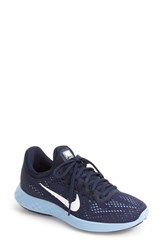 Nike Women's Lunar Skyelux Running Shoe Midnight Navy White