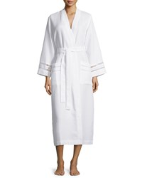 Oscar De La Renta Spa Oasis Long Robe White
