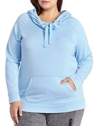 Activezone Plus Athleisure Hooded Pullover Little Boy Blue