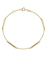 Moon And Meadow Bar Station Bracelet In 14K Yellow Gold 100 Exclusive