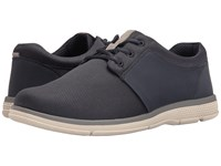 Nunn Bush Zephyr Three Eye Plain Toe Lace Up Navy Men's Lace Up Casual Shoes