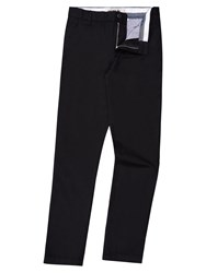 Lacoste Men's Cotton Twill Chino Pants Black