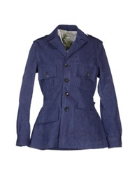Tonello Full Length Jackets Dark Blue