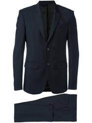Givenchy Two Piece Suit Blue