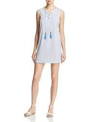 Cooper And Ella Isabel Lace Up Dress Baby Blue
