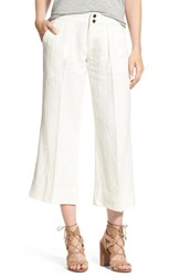 Joe's Jeans Women's 'Gracie' Cotton Blend Crop Trousers Haven