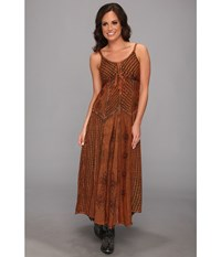 Scully Honey Creek Juliette Dress Copper Women's Dress Bronze