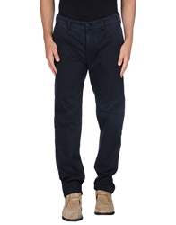 Fay Casual Pants Dark Blue