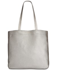 Kenneth Cole Reaction New Tote City Large Tote Silver