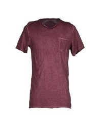 L.B.K. Topwear T Shirts Men Deep Purple