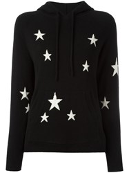 Chinti And Parker Star Hoodie Black
