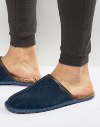Ted Baker Youngi Mule Slippers Navy
