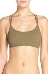 Free People Women's Melt With You Bralette Green