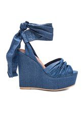 Jeffrey Campbell Xenobia Wedge Blue