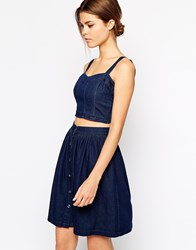 Warehouse Bustier Indigo