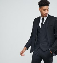 Heart And Dagger Tall Skinny Suit Jacket Black