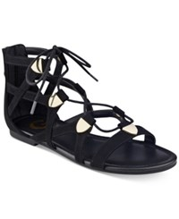 G By Guess Lewy Gladiator Sandals Women's Shoes Black
