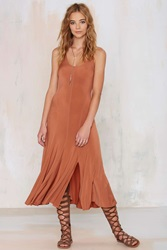 Nasty Gal Vintage Donna Karen Sophie Knit Slip Dress