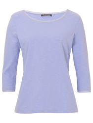 Betty Barclay 3 4 Sleeve Tee Lavender Blue
