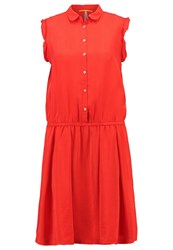 Boss Orange Clace Dress Rot Red