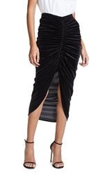 Bailey 44 Bailey44 Any Seven Velvet Skirt Black