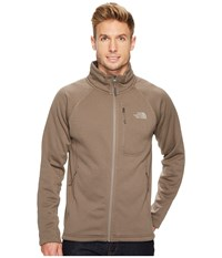 The North Face Timber Full Zip Falcon Brown Men's Long Sleeve Pullover