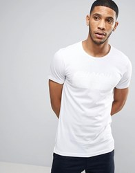 Casual Friday T Shirt With Tonal Cph Print White