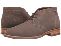 Trask Flint Gray Water Resistant Suede Men's Lace Up Boots