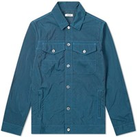 Tres Bien Overdyed Denim Jacket Blue