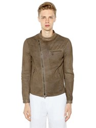 Giorgio Armani 3D Effect Perforated Nappa Jacket