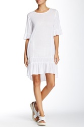 Zoa Flare 3 4 Sleeve Tunic White
