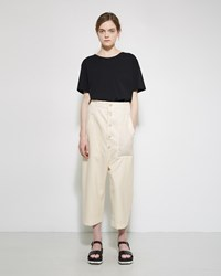 Julien David Summer Wool Trouser White