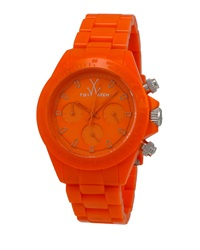 Toywatch Monochrome Orange Plasteramic Watch