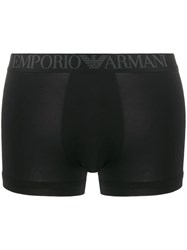 Emporio Armani Logo Band Briefs Black