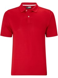 Callaway Men's Solid Polo Red