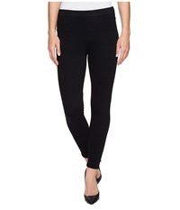 Spanx Cut Sew Cropped Knit Leggings Black Women's Clothing