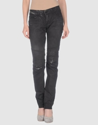 Rockstar Denim Pants Dark Brown