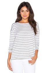 Heather French Terry Pullover Gray